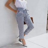 Stray Cat Stripes - Women's Trousers