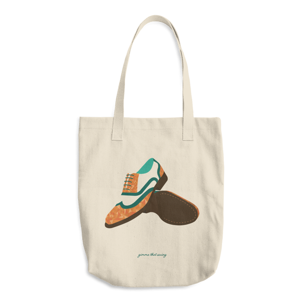 Gimme that Swing: Cotton Tote Bag