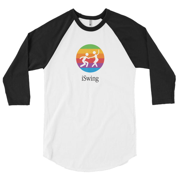 iSwing: 3/4-Sleeve Unisex Shirt