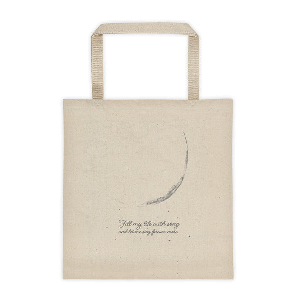 Fly Me to the Moon: Large Tote bag