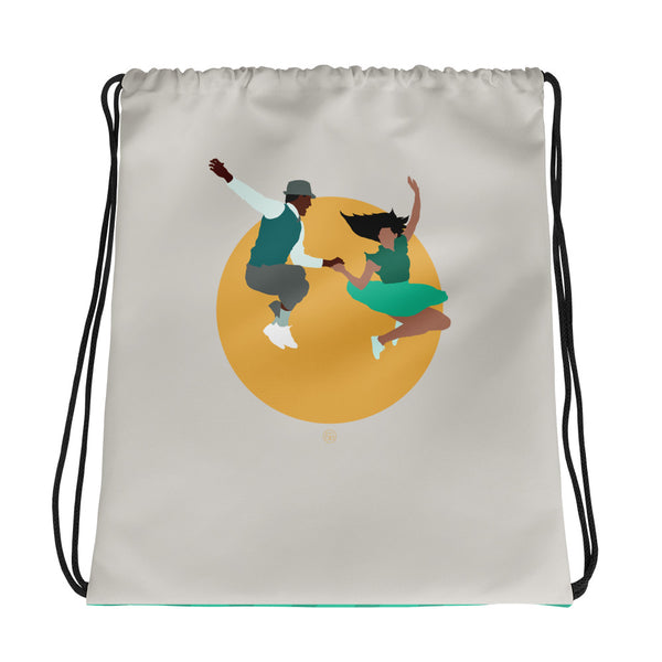 The best high quality swing dance bag for lindy hoppers! Featuring a dance graphic design.