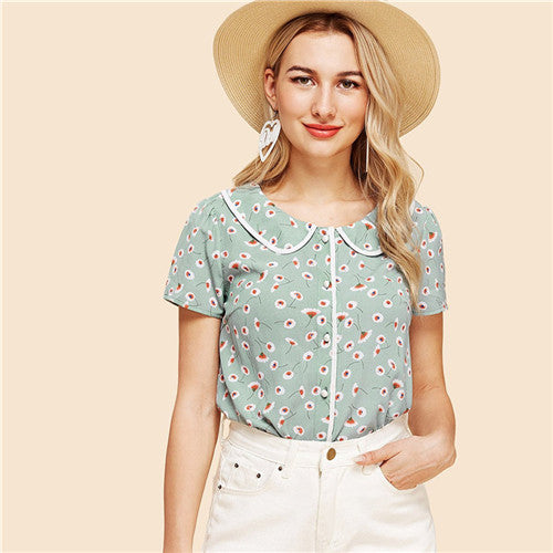 Picnic Perfect - Summer Blouse