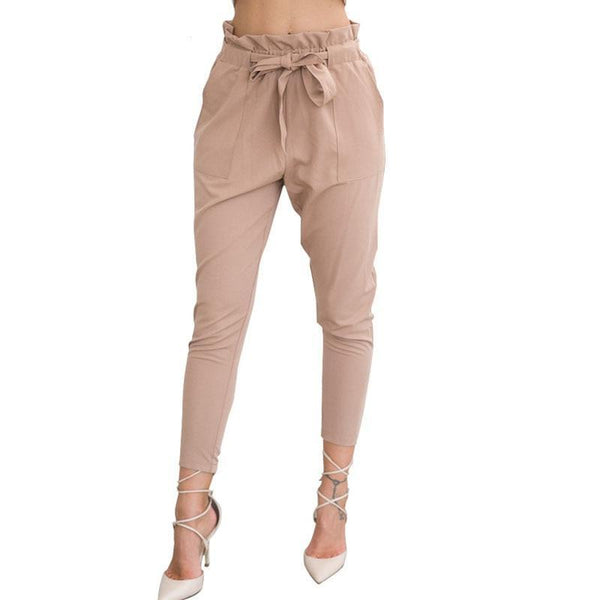 Lady's High-Waisted Trousers