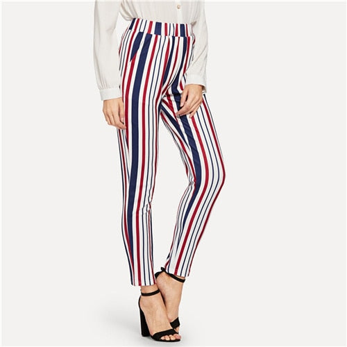 She's a Dandy - Striped Pants