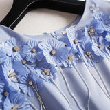 Blue Swoon - Vintage Outfit