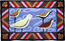 Load image into Gallery viewer, Seagull Sea Birds Ocean Handcrafted Accent Rug