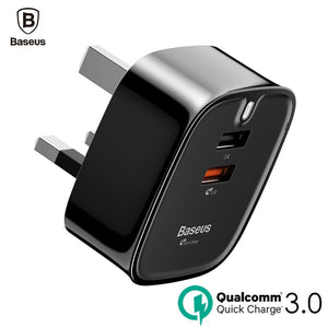 Quick Charge 3.0 Turbo USB Wall Charger for all Mobile & Tablet Devices
