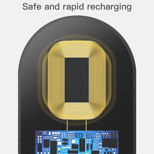 Magic Qi Tag - QI Wireless Charging Receiver for older phones (iPhone 5,6,7 + Galaxy S5 and older)
