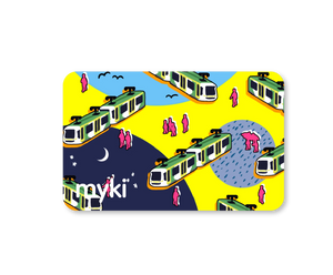 Happy Travels With Myki Logo