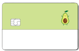 Credit Card Sticker - AVOCADO