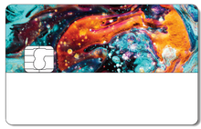 Credit Card Sticker - COSMOS