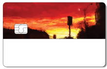 Credit Card Sticker - DUSK
