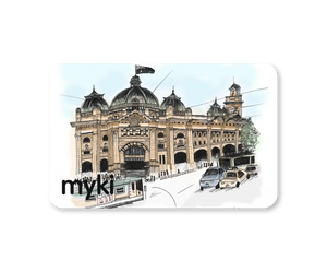 Through The Heart Of Melbourne With Myki Logo