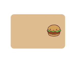 Hamburger Sticker No Myki Logo