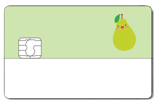 Credit Card Sticker - PEAR