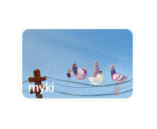 Sustainable Pigeons With Myki Logo