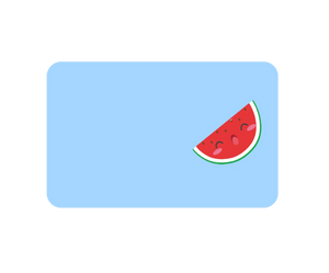 Watermelon Sticker No Myki Logo