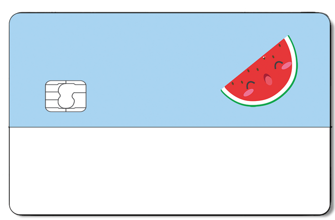 Credit Card Sticker - WATERMELON