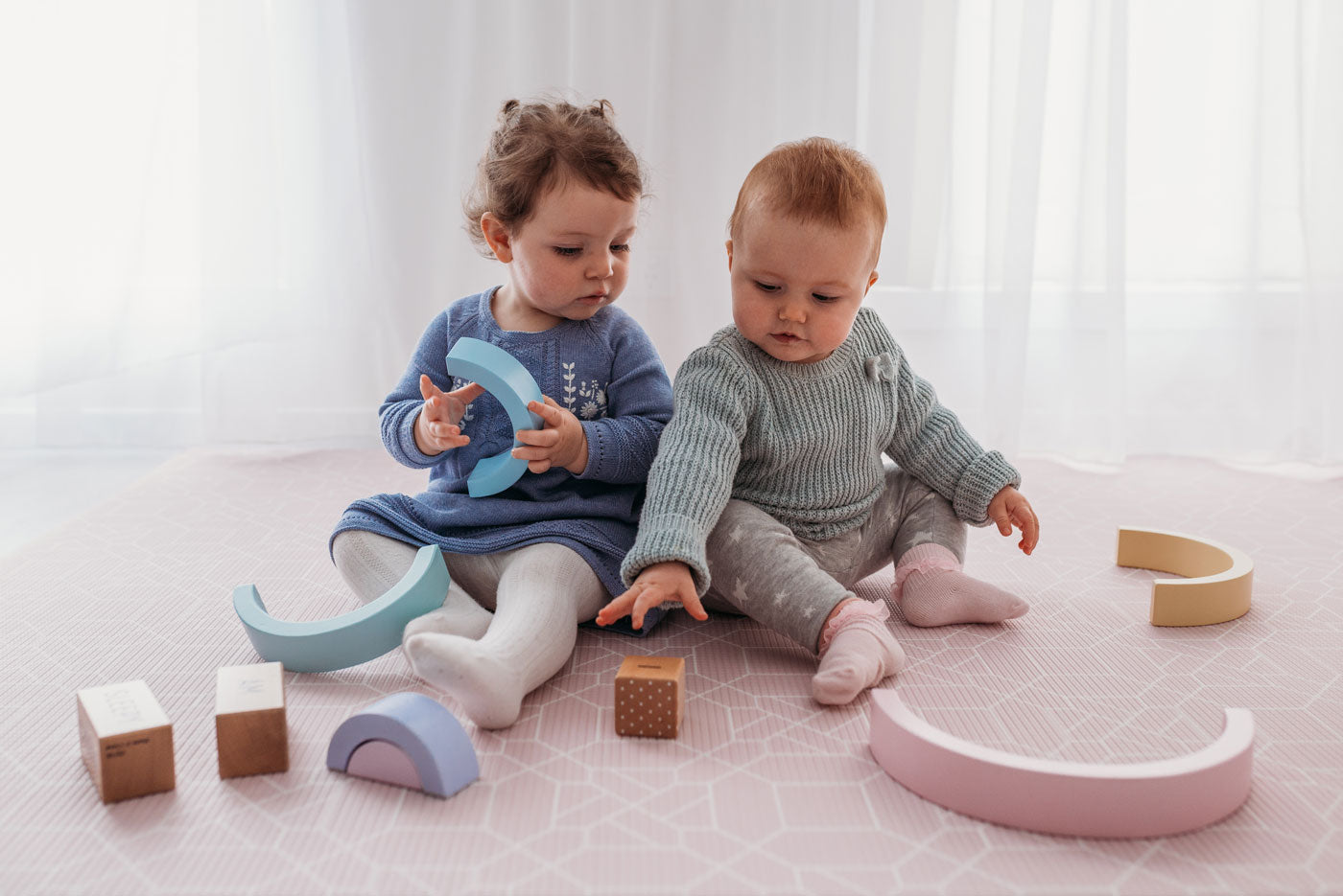 Blush Play mat: foam playmat