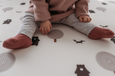 Run Forrest: Grey Large Playmat