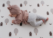 Run Forrest Grey Play mat