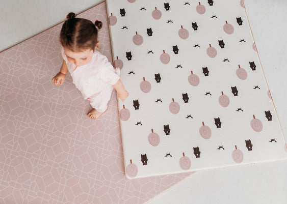 Small foam playmat. Small Blush play mat