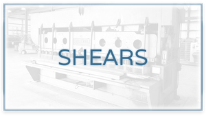 Used Fabrication Shears For Sale