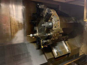 Haas ST-20SS CNC Lathe, 2011 - Chip Conveyor, Rigid Tapping
