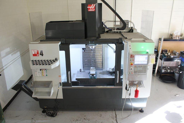 Haas VF-4-SE VMC, 2019 - 10,000 RPM, 5 Axis, WIPS, TRT160, Low Hours