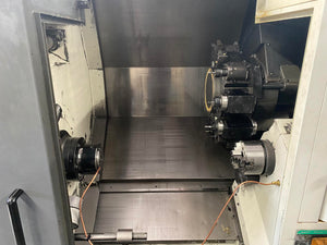 Mori Seiki NL2500SY/700 CNC Lathe, 2005 - Sub Spindle, Y Axis, Live Tooling, Bar Feed