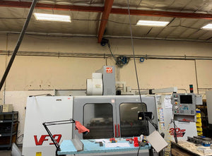 Haas VF-9/40 VMC, 2000 - Side-Mount ATC, Chip Auger, Expanded Memory, 4th Axis Ready