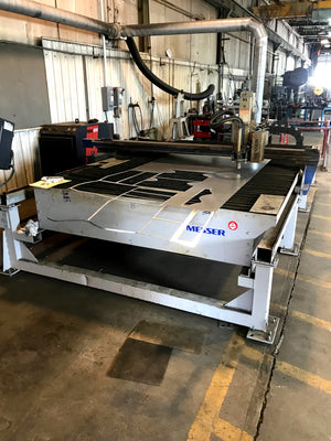 "2007 Messer SM 1006 CNC Plasma, 6' x 10', Pierce 2"", Upgraded Torch 2018, Upgraded Control 2019"