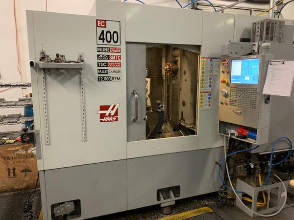 2008 Haas EC-400 Horizontal Machining Center