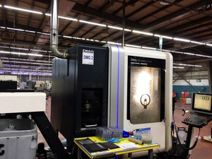 2009 DMG DMU 50 Evo Linear 5-Axis Milling Machine (2 of 2)