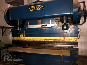 Verson 120 Ton x 12' Bed Press Brake, Model B-58-120