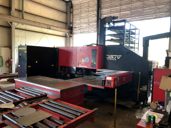 1997 Amada Apelio – III 357V AP3357V 30-Ton CNC Laser Turret Punch Press