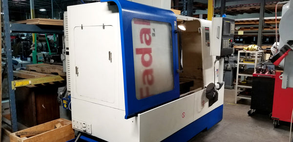 2006 Fadal VMC 2216 HT Vertical Machining Center, 15,000 RPM Spindle