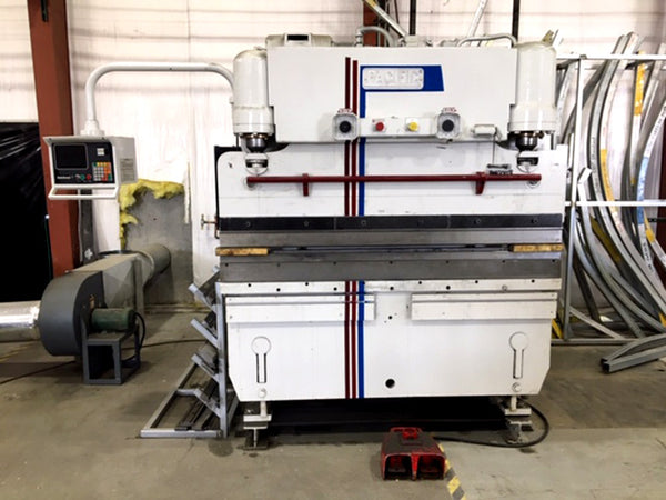 1981 Pacific 55 Ton x 6ft. CNC Press Brake, Model J55-6, Hurco Autobend 7 Backgauge