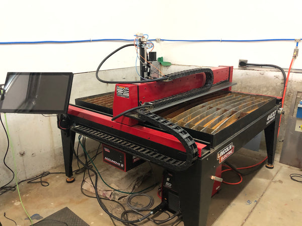 "2017 Lincoln Electric Torchmate 4400 Plasma 80 CNC Plasma Table - 4' x 4' Table, 3/4"" Capacity"