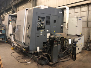 Okuma Mac Turn 550W CNC Lathe, 2008 - Chip Conveyor, Tooling Included