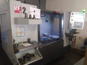 2015 Haas VF-2 Through Spindle Coolant, Sidemount TC, 10K RPM, Probing