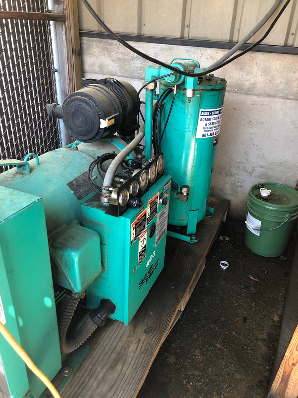 Sullivan-Palatek 40DG Industrial Air Compressor, 2013 - 40HP