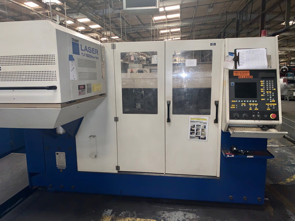 3000 Watt Trumpf L3030 CO2 Laser, 2000- New Resonator, 5' x 10' Table