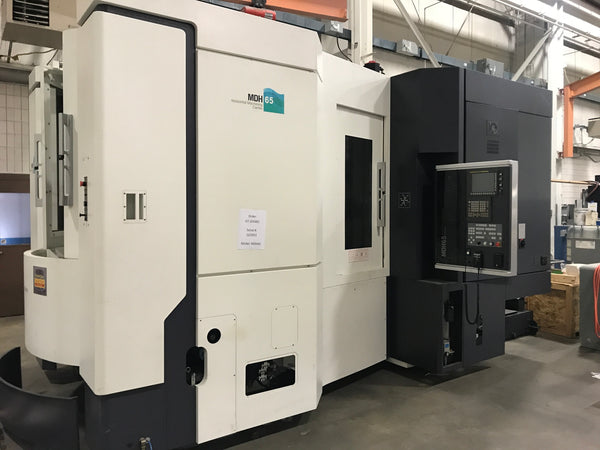 DMTG MDH 65 Horizontal Machining Center, CNC, Fanuc Series 3Ti - Model B