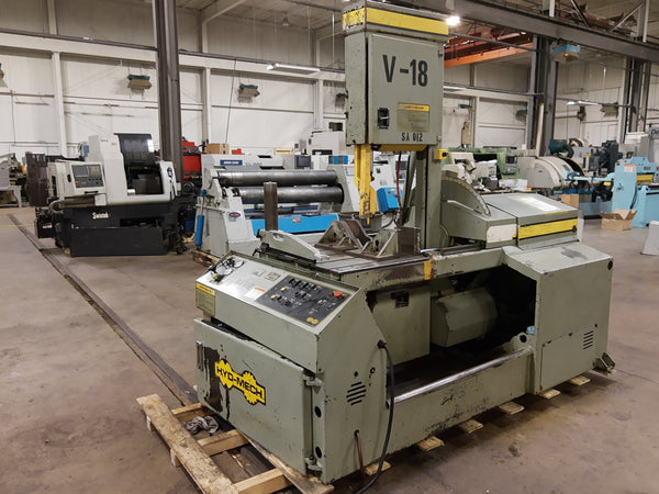 "18.5"" x 20.5"" Hyd-Mech V-18 Vertical Band Saw, 2000"