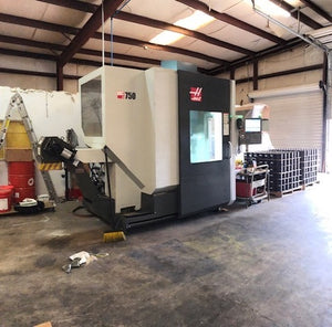 Haas UMC-750 5-Axis VMC, 2017 - Thru Spindle Coolant, 12k RPM, HS Machining