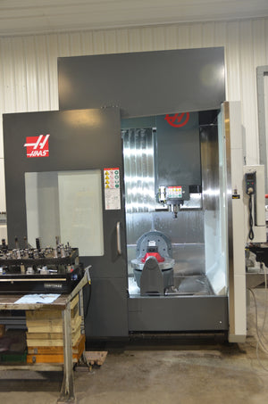 Haas UMC-750, 2018 - 200hrs Cut Time, TSC,15k Rpm