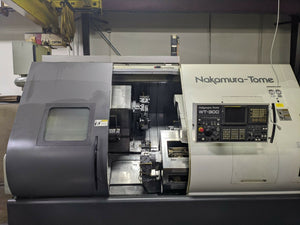 Nakamura Tome WT-300 Twin Turret Twin Spindle Turning Center, 2005