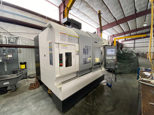 Okuma Genos M560-V VMC, 2018 - Low Hours, 4th Axis, Probing