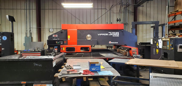 33 Ton Amada Vipros 358 King Turret Punch, 1998 - 04PC Control